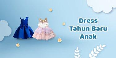 Dress Tahun Baru Anak