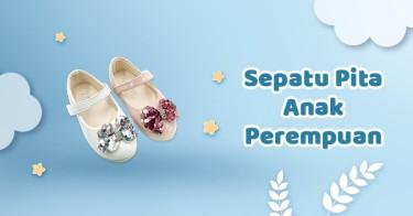 Sepatu Pita Anak Perempuan
