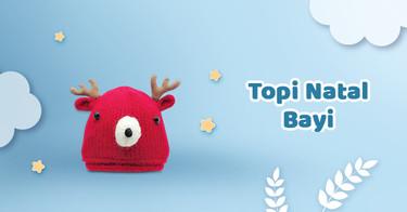 Topi Natal Bayi