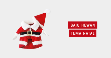 Baju Hewan Tema Natal