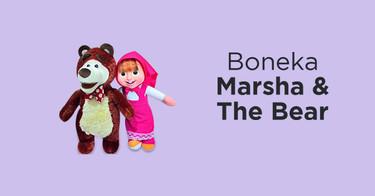 Jual Boneka Masha and The Bear Lucu Terbaru - Asli   Harga Murah ... 0a4d6a3928