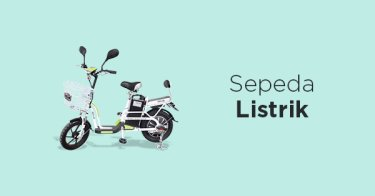 Jual Sepeda Listrik / Elektrik Terbaik - Harga Sepeda Listrik Terbaru | Tokopedia