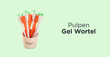 Pulpen Gel Wortel