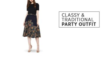 Classy & Traditional Party Outfit
