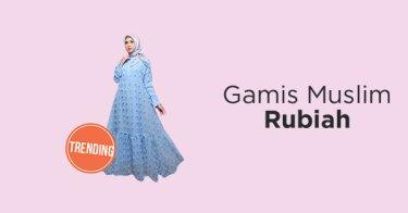 Gamis Muslim Rubiah
