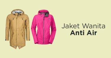 Jaket Wanita Anti Air