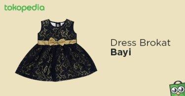 Dress Brokat Bayi