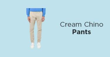 Celana Chino Cream Kabupaten Bekasi