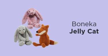 Boneka Jelly Cat