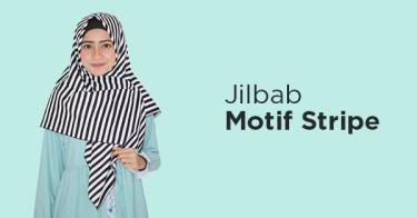 Jilbab Stripe