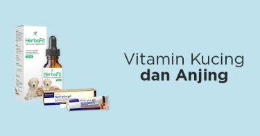 Vitamin Kucing dan Anjing