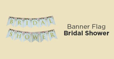 Banner Flag Bridal Shower