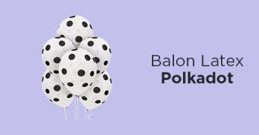 Balon Latex Polkadot