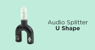 Audio Splitter U Shape