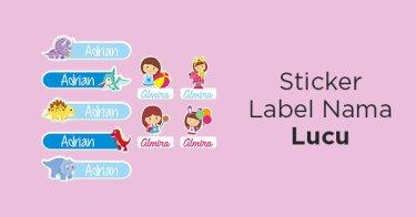 Stiker Label Nama Lampung