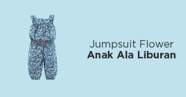 Jumpsuit Flower Anak