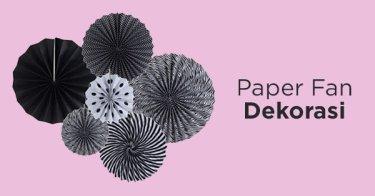 Paper Fan Dekorasi