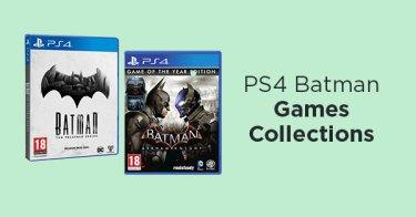 PS4 Batman Games Collections