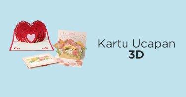 Kartu Ucapan 3D Jakarta Selatan