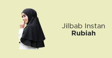Jilbab Instan Rubiah