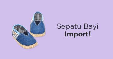 Sepatu Bayi Import