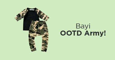 Outfit Army Bayi