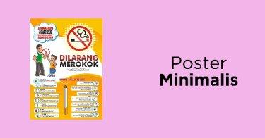 Poster Minimalis