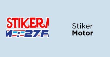 Stiker Motor DKI Jakarta