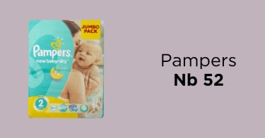 Pampers Nb 52