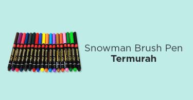 Snowman Brush Pen
