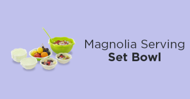 Magnolia Serving Set
