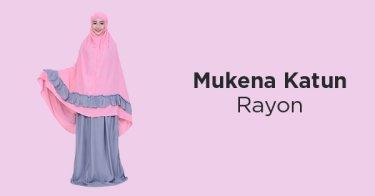 Mukena Katun Rayon DKI Jakarta