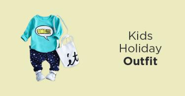 Outfit Liburan Anak
