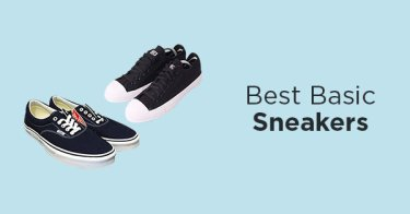 Sneakers Basic Pria
