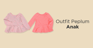 Outfit Peplum Anak