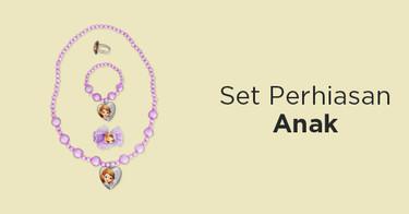 Set Perhiasan Anak Jawa Tengah