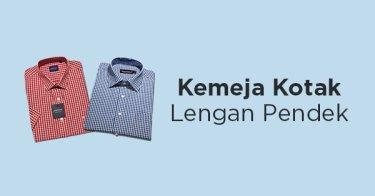 Kemeja Kotak - Kotak Lengan Pendek Jakarta Barat