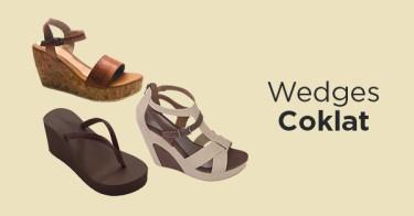 Wedges Coklat Bogor