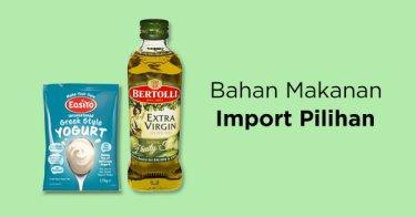 Bahan Makanan Import