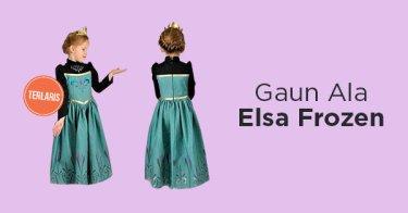 Gaun Elsa Frozen