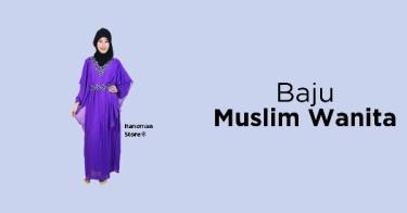 Baju Muslim Wanita Lampung