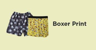 Boxer Motif Pria