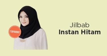 Jilbab Instan Hitam