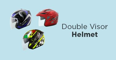 Helm Double Visor Bekasi