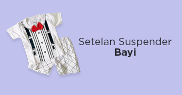 Setelan Suspender Bayi