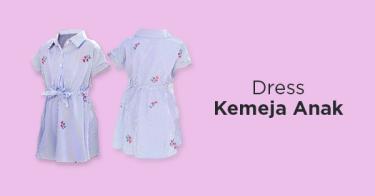 Dress Kemeja Anak