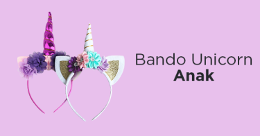 Bando Unicorn Anak