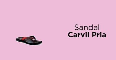 Sandal Carvil Pria