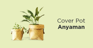 Cover Pot Anyaman