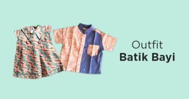 Outfit Batik Bayi